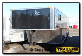 enclosed gooseneck trailer