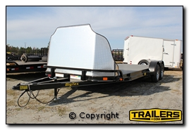 car trailer rocksheild