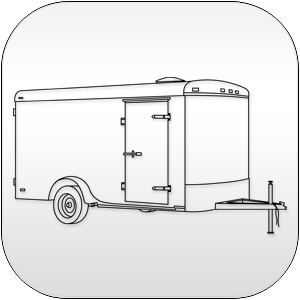 Round Enclosed Cargo Trailers